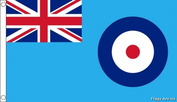 #Royal Air Force Ensign  (RAF)