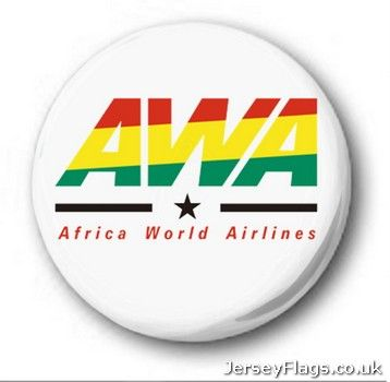 Africa World Airlines  (Ghana)  25mm