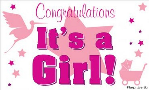 Congratulations It's A Girl