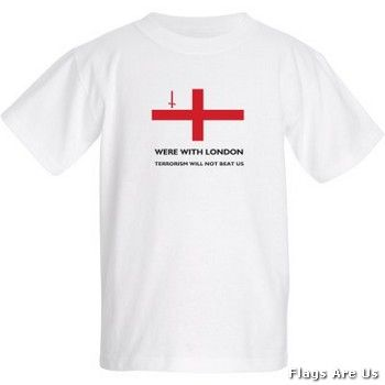 London Victims Kids' T-Shirt  (White)