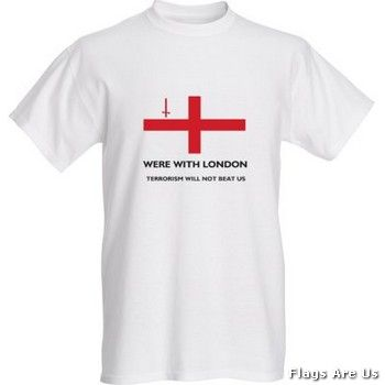 London Victims Men's T-Shirt  (White)