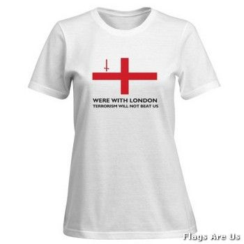 London Victims Woman's T-Shirt  (White)