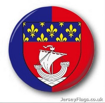 Paris  (Ile de France) (France) (With Crest)