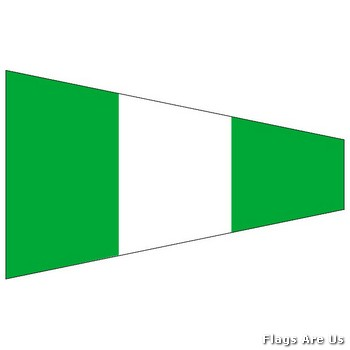 Starboard Code Signal Pennant